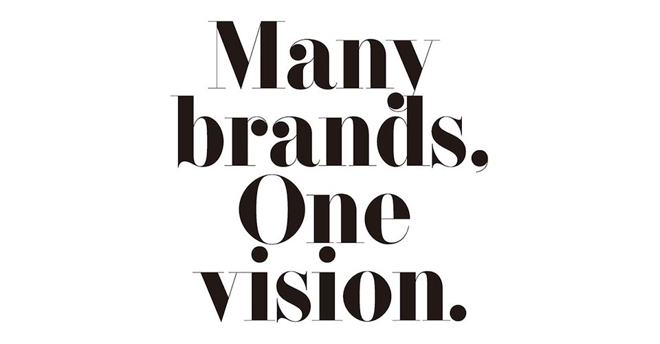 many brands one vision